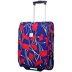 Tripp - Poppy Cabin 2-Wheel Suitcase Indigo/Coral