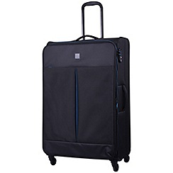 Tripp - Style Lite Large 4-Wheel Suitcase Black