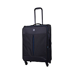 Tripp - Style Lite Medium 4-Wheel Suitcase Black