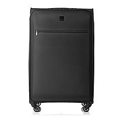 Tripp - Full Circle Large 4- Wheel Suitcase Black