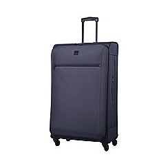 Tripp - Full Circle Large 4-Wheel Suitcase Putty