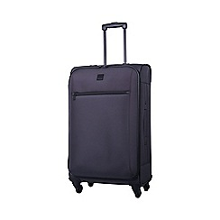 Tripp - Full Circle Medium 4-Wheel Suitcase Putty