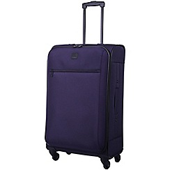 Tripp - Full Circle Medium 4-Wheel Suitcase  Grape
