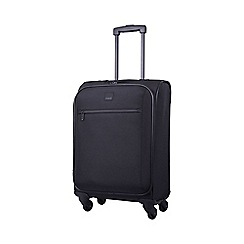 Tripp - Full Circle 4-Wheel Cabin Suitcase Black
