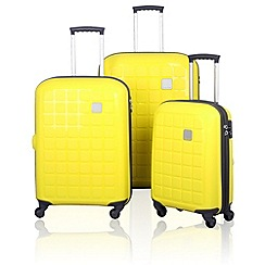 Tripp - Holiday 5 4-wheel Suitcase Range in Lemon