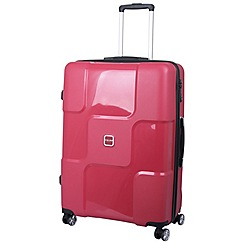 Tripp - World 4-Wheel Large Suitcase Ruby