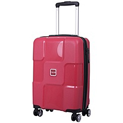 Tripp - World 4-Wheel Cabin Suitcase Ruby