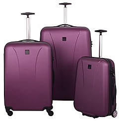 Tripp - Lite Suitcase Range in Crimson