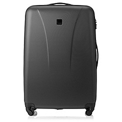 Tripp - Black 'Lite' 4 wheel large suitcase
