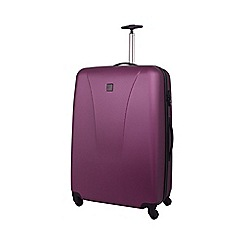 Tripp - Lite Large 4-Wheel Suitcase Crimson