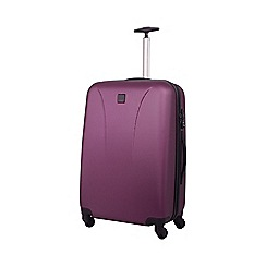Tripp - Lite 4-Wheel Medium Suitcase Crimson