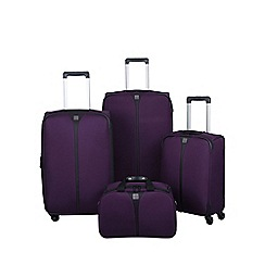 Tripp - Superlite 4-wheel Suitcase Range in Cassis