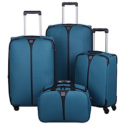 Tripp - Superlite 4-wheel Suitcase Range in Aqua