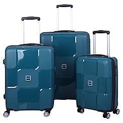Tripp - World 4-wheel Suitcase Range in Aqua
