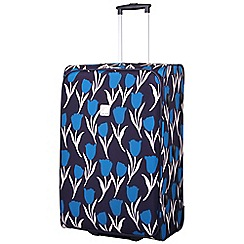 Tripp - Express Tulip Large 2-Wheel Suitcase Navy/Teal