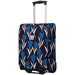 Tripp - Express Tulip 2-Wheel Cabin Suitcase Navy/Teal