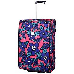 Tripp - Express Hibiscus 2W Large Suitcase Coral/indigo