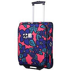 Tripp - Express Hibiscus Cabin 2W Suitcase Coral/indigo