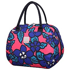 Tripp - Express Hibiscus Holdall Coral/indigo