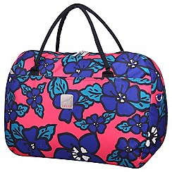 Tripp - Express Hibiscus Large Holdall Coral/indigo