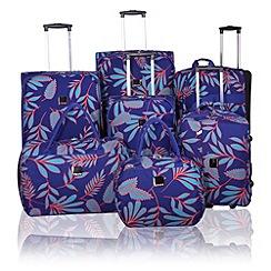 Tripp - Express Fern luggage range Indigo/Turquoise