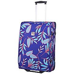 Tripp - Fern Medium 2-Wheel suitcase  Indigo/Turquoise