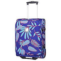Tripp - Fern  Cabin 2-Wheel suitcase Indigo/Turquoise