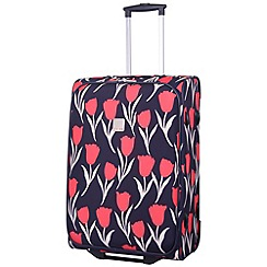 Tripp - Express Tulip 2-Wheel Medium suitcase Navy/Coral