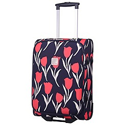 Tripp - Express Tulip 2-Wheel Cabin  suitcase Navy/Coral