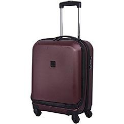 Tripp - Lite 4-Wheel Dual Access Cabin Suitcase Crimson
