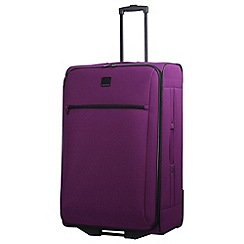 Tripp - Mulberry 'Glide Lite III' 2 wheel large suitcase