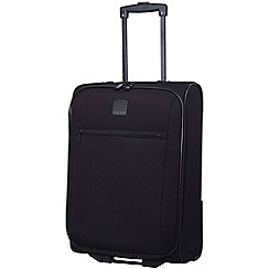 Tripp - Glide Lite III  2-Wheel Cabin Suitcase Black