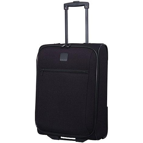 tripp glide lite iii 2 wheel cabin suitcase black debenhams. Black Bedroom Furniture Sets. Home Design Ideas