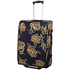 Tripp - Express Bloom 2-Wheel Medium suitcase Navy/Yellow