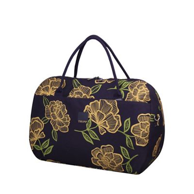 Tripp Express Bloom Large Holdall Navy/Yellow