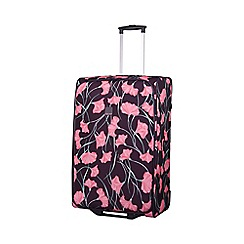 Tripp - Express Poppy 2-Wheel Large Suitcase Grape/Pink