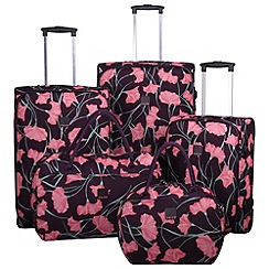 Tripp - Express Poppy luggage range Grape/Pink