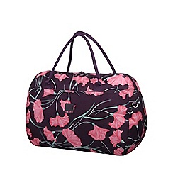 Tripp - Express Poppy Large Holdall Grape/Pink