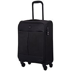 Tripp - Style Lite Cabin 4-Wheel Suitcase Black/Black