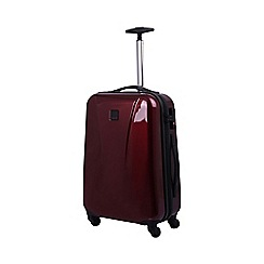 Tripp - Chic Cabin 4-Wheel Suitcase Crimson Gloss