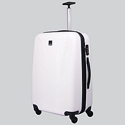 Tripp - Chic Medium 4-Wheel Suitcase White Gloss