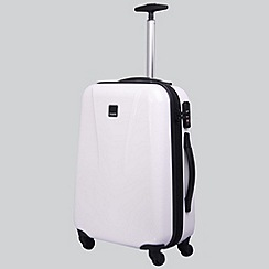 Tripp - Chic 4-Wheel Cabin Suitcase White Gloss