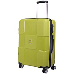 Tripp - World 4-Wheel Medium Suitcase Chartreuse