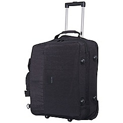 Tripp - Black 'Holiday Bags' 2 wheel cabin duffle