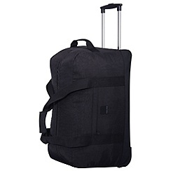 Tripp - Black 'Holiday Bags' 2 wheel large wheel duffle