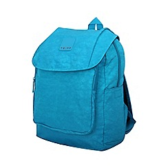 Tripp - ultramarine 'Holiday Bags' flapover backpack
