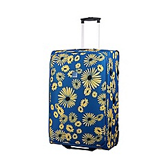 Tripp - Daisy 2-Wheel large suitcase Turquoise/Yellow