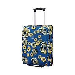 Tripp - Daisy 2-Wheel Cabin suitcase Turquoise/Yellow
