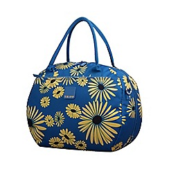 Tripp - Daisy Holdall Turquoise/Yellow