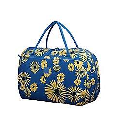 Tripp - Daisy Large Holdall Turquoise/Yellow